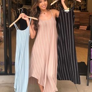 Striped Pocket Maxi - size M